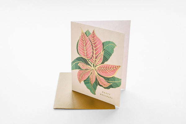 Nouveau Poinsettia - Boxed Set of Six