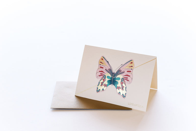 Rose Monarch Stationery