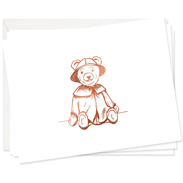 Toy Teddy Stationery Set
