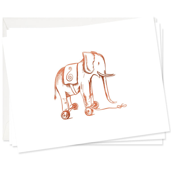 Toy Elephant Stationery Set