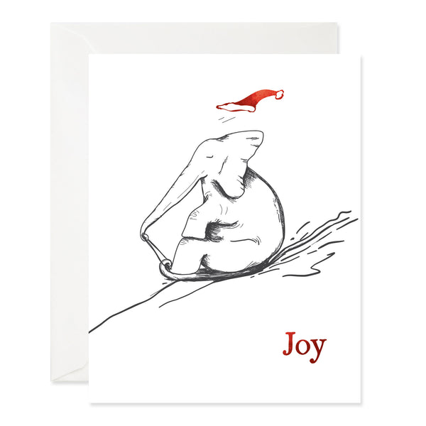 Sledding Elephant Joy