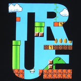 Mens True 1up T-Shirt Black
