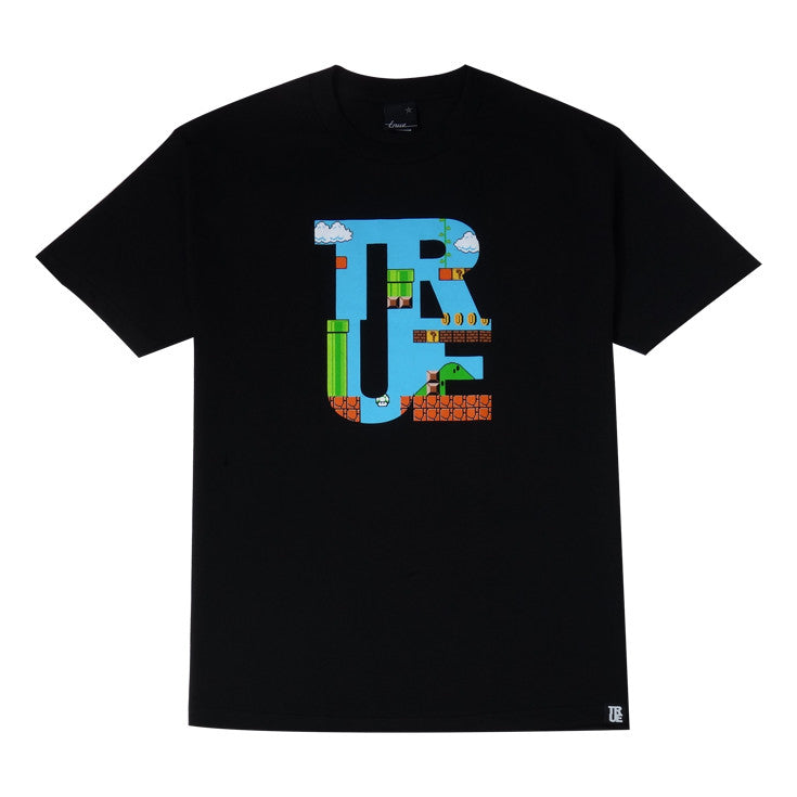 Mens True 1up T-Shirt Black - Shop True Clothing