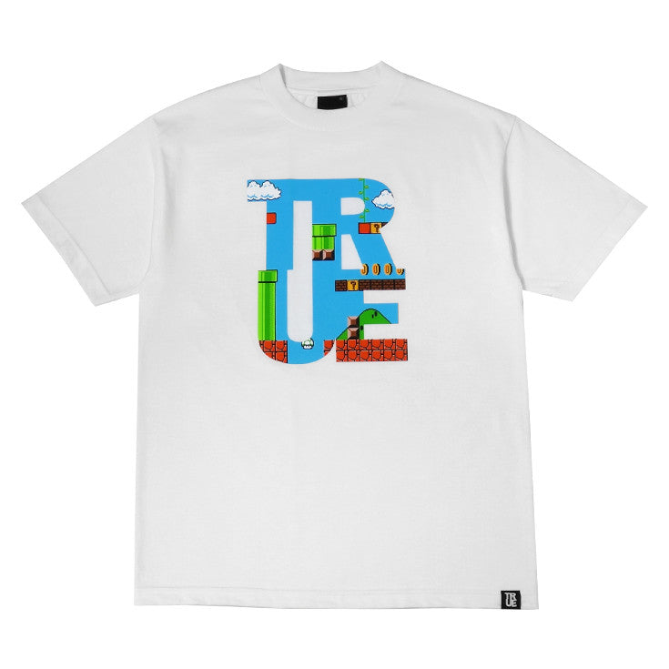 Mens True 1up T-Shirt White - Shop True Clothing