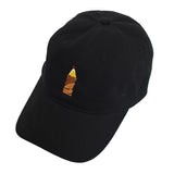 True Paper Bag 40 Dad Hat Black