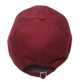 True Paper Bag 40 Dad Hat Burgundy