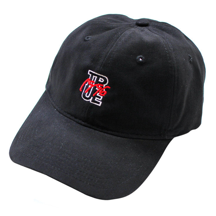 True 96 Dad Hat Black