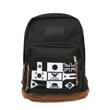 Load image into Gallery viewer, True x JanSport Nations Right Pack Backpack, Black