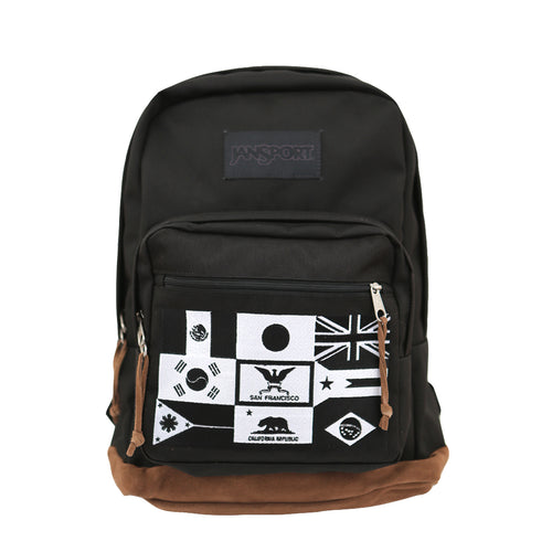 True x JanSport Nations Right Pack Backpack, Black