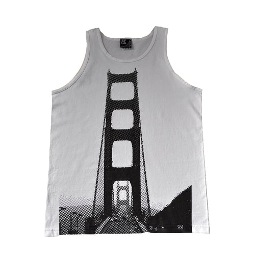 SFCA Mens 5 On It Tank Top White - Shop True Clothing