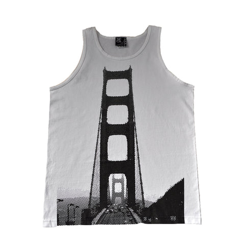 SFCA Mens 5 On It Tank Top White