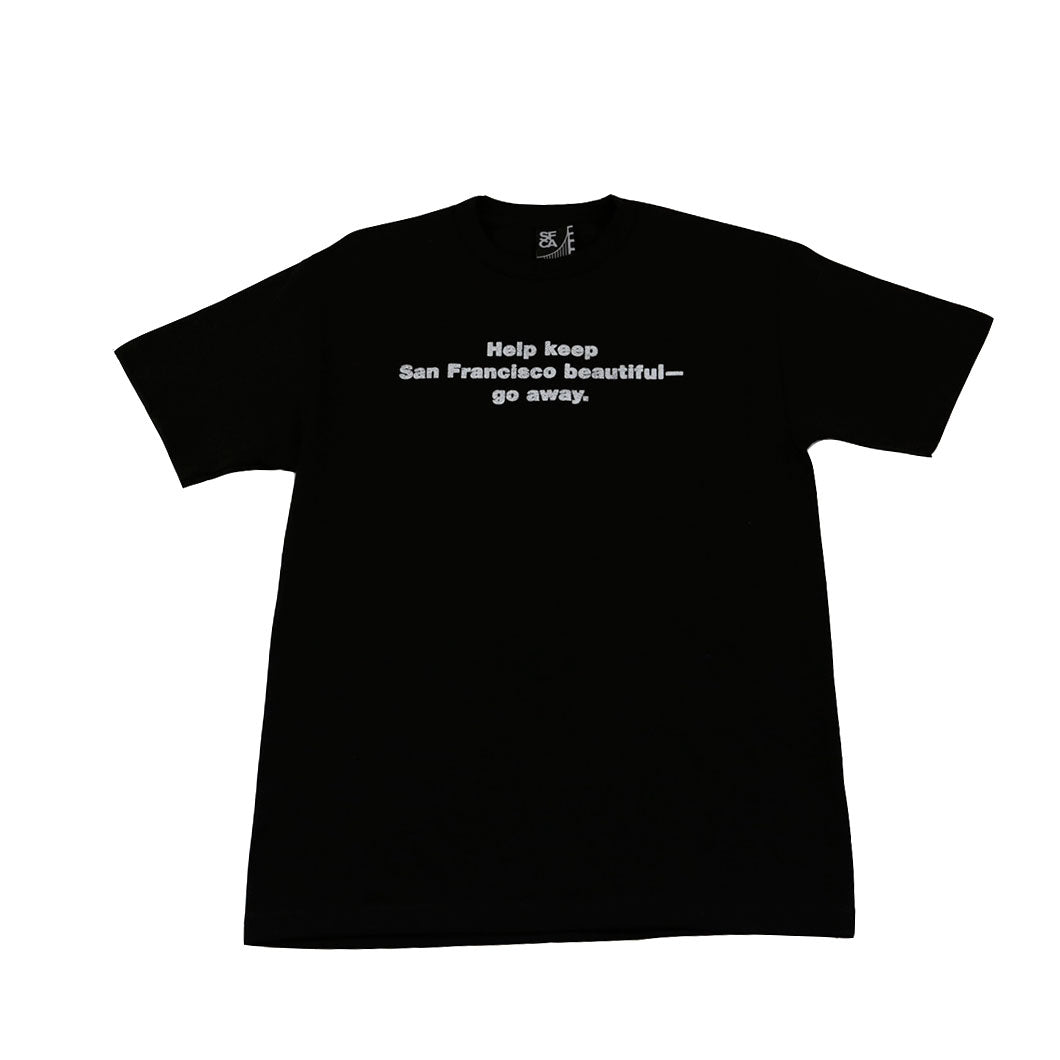 Mens SFCA Go Away T-Shirt Black - Shop True Clothing