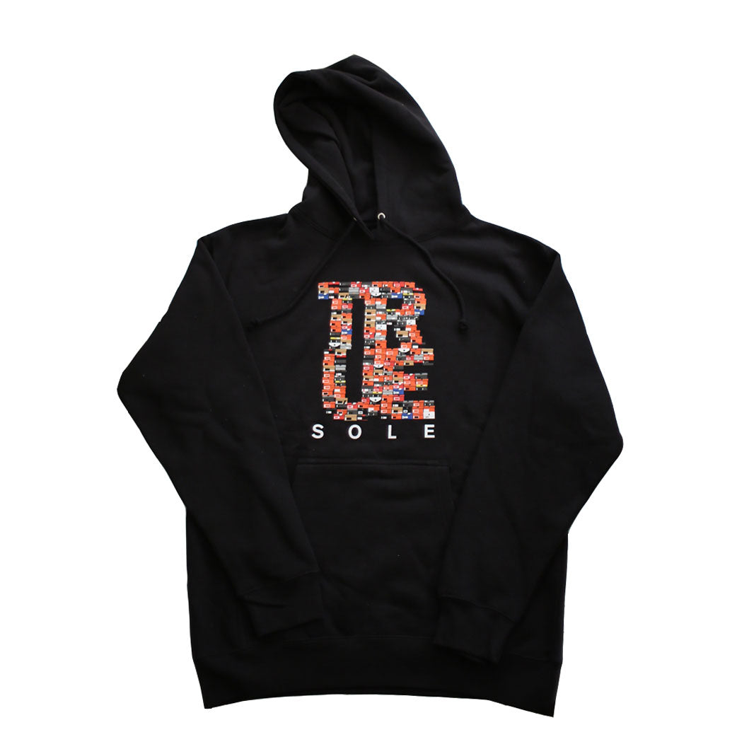 Mens True Sole 3 Hoodie Black