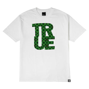 Mens True Argyle THC T-Shirt White - Shop True Clothing