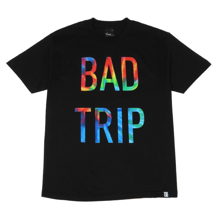 Mens True Bad Trip T-Shirt Black