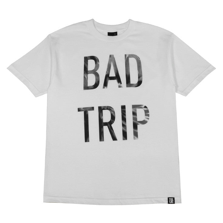 Mens True Bad Trip T-Shirt White