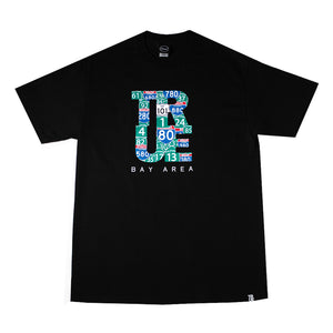 Mens True Bay Area T-Shirt Black