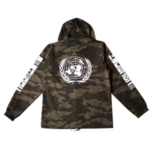 Load image into Gallery viewer, True Mens BBQ Hooded Rain Jacket Camo
