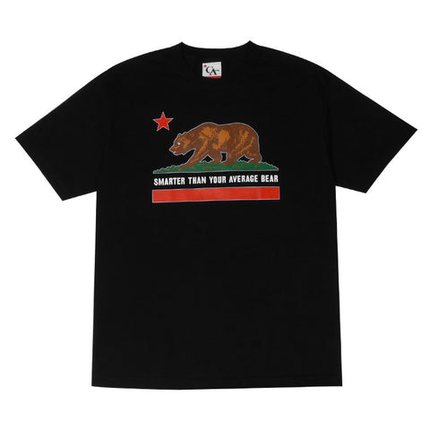 Mens Cali Bear T-Shirt Black