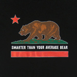 Mens Cali Bear T-Shirt Black - Shop True Clothing