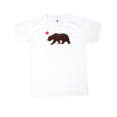 Kids True Bear Star T-Shirt White