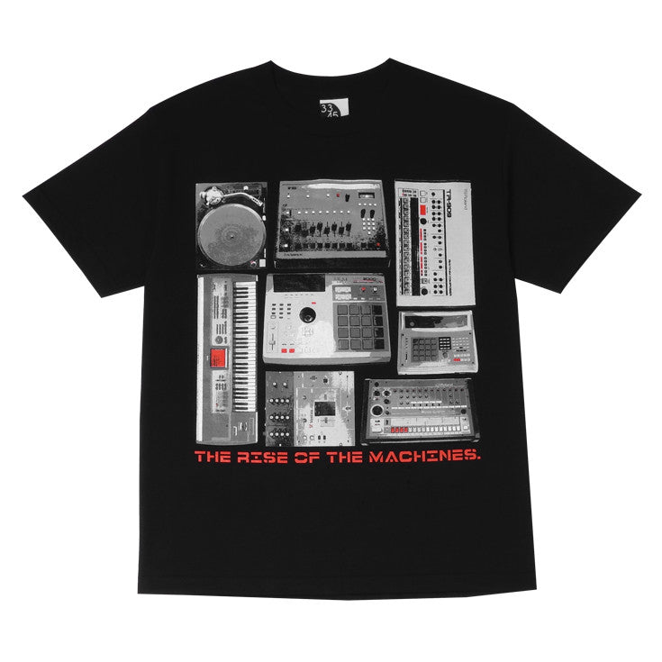Mens Ongaku Beat Machines T-Shirt Black - Shop True Clothing