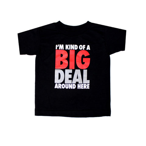 Kids True Big Deal T-Shirt Black