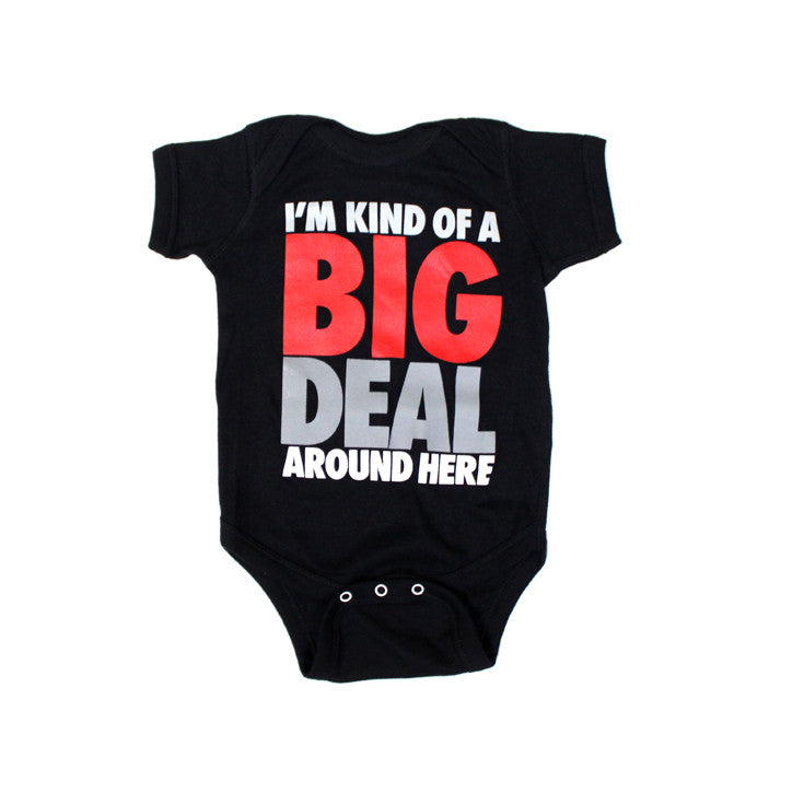 Kids True Big Deal One Piece Black