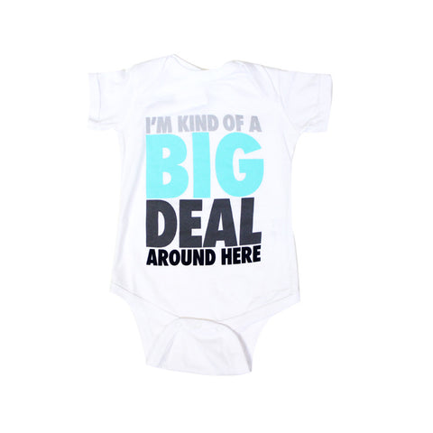 Kids True Big Deal One Piece White