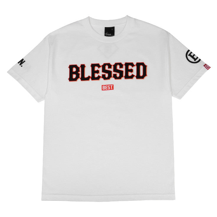 Mens True x DJ Amen x Breezy Blessed T-Shirt White