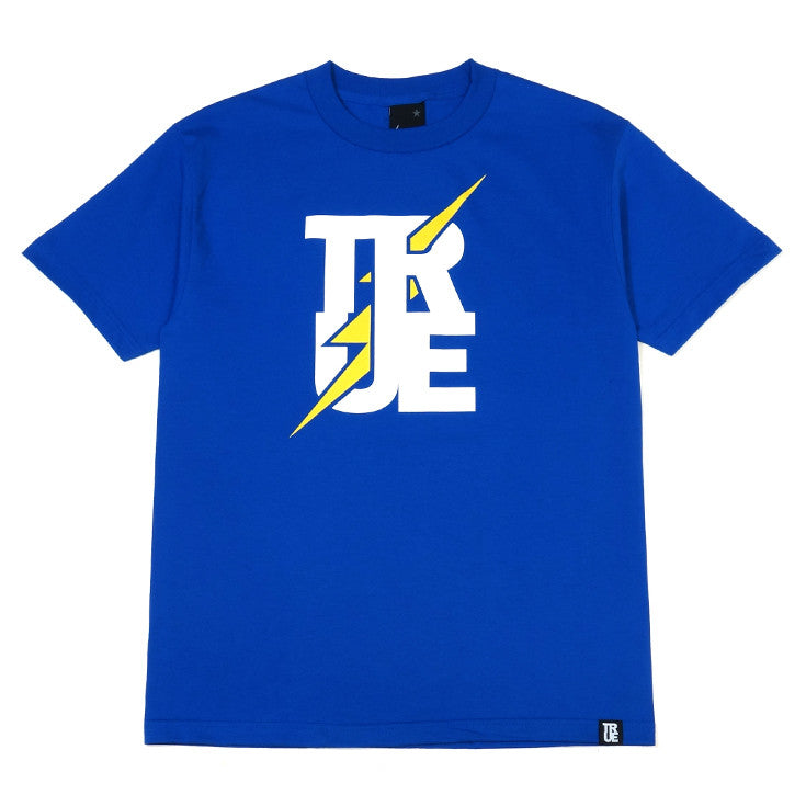 Mens True Bolt T-Shirt Royal - Shop True Clothing