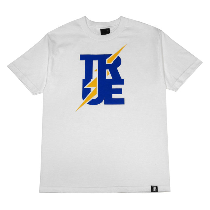 Mens True Bolt T-Shirt White - Shop True Clothing