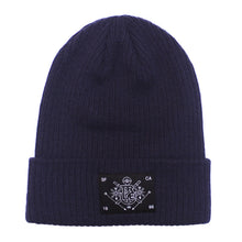 Load image into Gallery viewer, True Burning Bridges Beanie Navy - Shop True Clothing