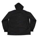 True Mens Burning Bridges Hooded Coaches Jacket Black