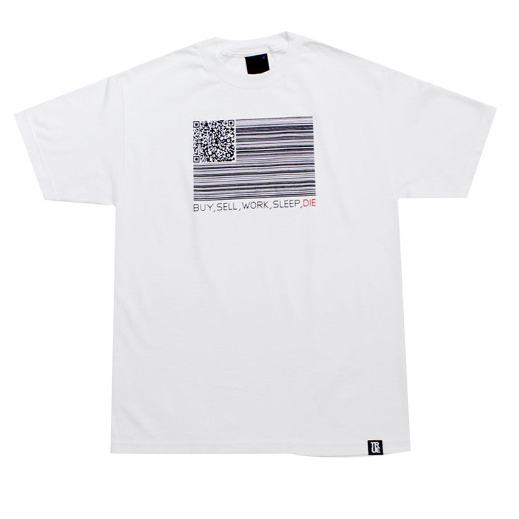True Mens Buy Sell Die T-Shirt White - Shop True Clothing