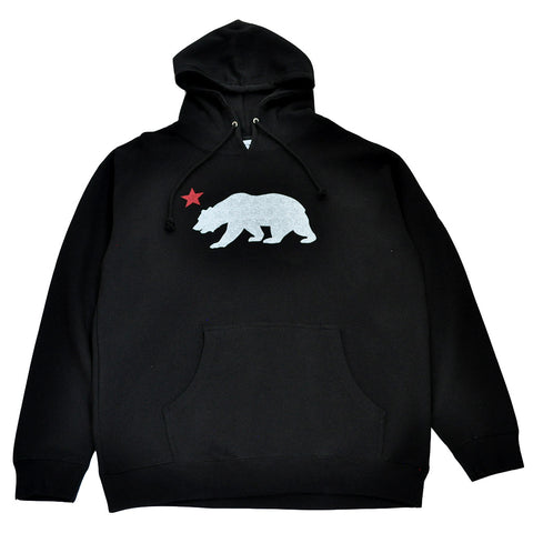Mens True Bear Star Hoodie Black