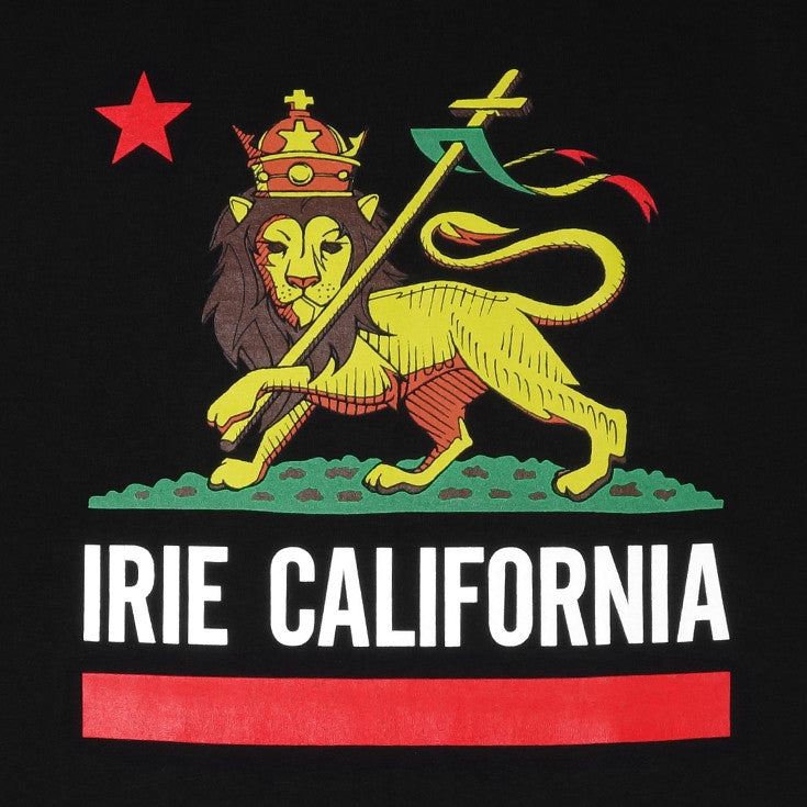 Mens Cali Lion T-Shirt Black - Shop True Clothing