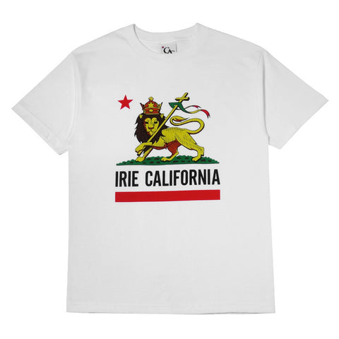Mens Cali Lion T-Shirt White