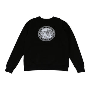 Mens Cali State Seal Crewneck Sweatshirt Black - Shop True Clothing