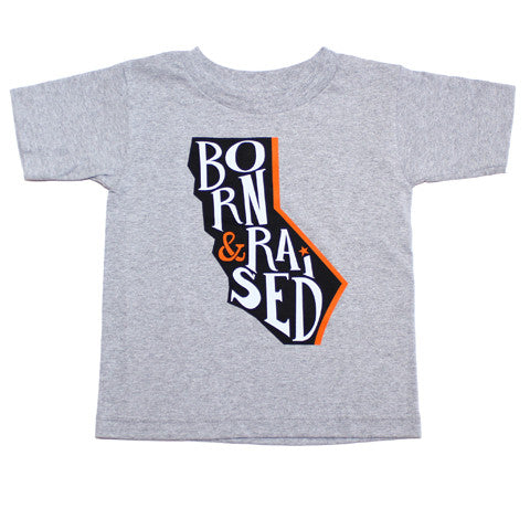 Kids True Cali Born T-Shirt Heather - Shop True Clothing