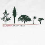 Mens Cali Got Trees T-Shirt White - Shop True Clothing
