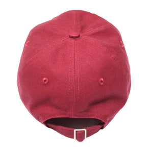 True Charged Up Dad Hat Burgundy - Shop True Clothing