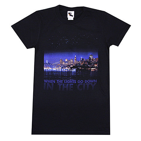 Womens SFCA City Lights T-Shirt Black