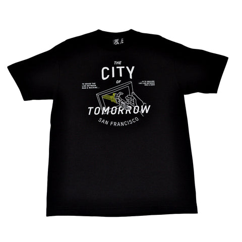 Mens SFCA City Of Tomorrow T-Shirt Black