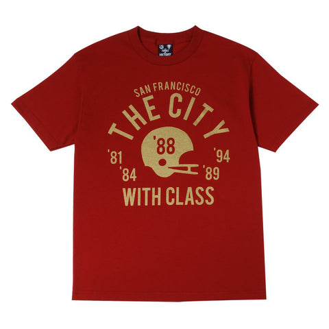 Mens Thrill Of Victory Class City T-Shirt Red