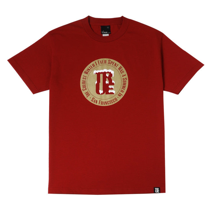 Mens True Croix T-Shirt Red