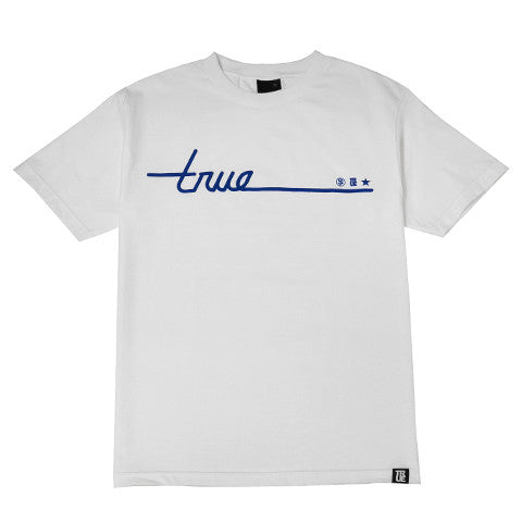 Mens True Darkside T-Shirt White - Shop True Clothing