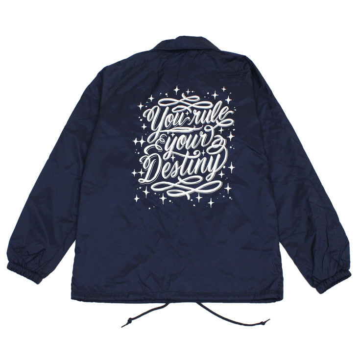 True x George Anzaldo Mens Destiny Jacket Navy - Shop True Clothing