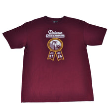 Load image into Gallery viewer, Mens SFCA Park & Rec T-Shirt Burgundy - Shop True Clothing