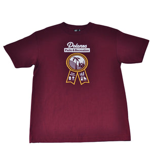 Mens SFCA Park & Rec T-Shirt Burgundy - Shop True Clothing